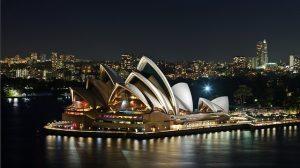 Sydney et son opéra